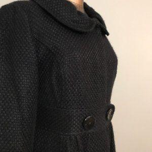 Vintage Tabitha Navy Spring Coat Sz L
